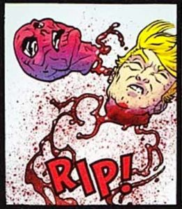 Donald Trump Beheaded in 'Spawn' Comic Book